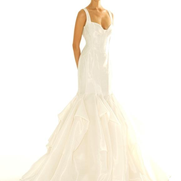 Peter Langner Dresses & Skirts - Peter Langner Wedding Dress Holding Tight